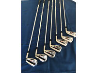 GOLF CLUBS CALLAWAY X HOT PRO IRONS 4 TO P.W.