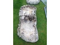 Pond waterfall 2 part 6ft long £15
