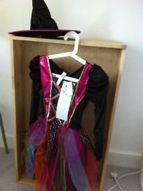 New with tags girls witch fancy dress