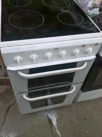 white ceramic electric cooker 50cm...Cheap free delivery