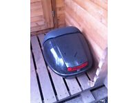 Piaggio skipper topbox all fixture and fittings and original key