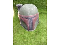 Boba Fett Stone Cement Statue Garden Home Ornament Star Wars Sci Fi