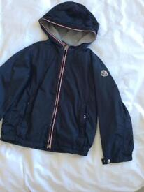 Moncler authentic lightweight navy jacket. Age 4. Vgc £50