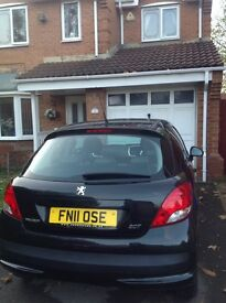PEUGEOT 207 1.4 ENVY 3dr 2011 STUNNING CONDITION LOW MILLAGE
