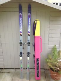 Skis and Ski Box