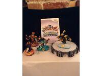 Skylanders Swapforce cd, portal and 4 figures