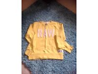 Men's gstar jumper xl but very small made more a large