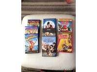 Disney dvds plus Alvin and the chipmunks