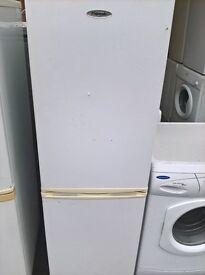 White fridge freezer medium..free delivery