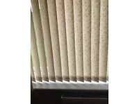 Patio vertical blinds recess fitting