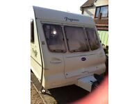 Bailey Majestic 2002 2 Berth Caravan with motor mover
