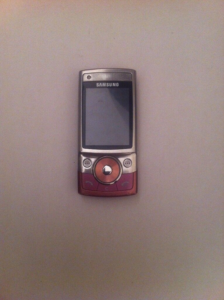 Samsung g600 untested no battery or charger