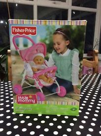 Fisher Price Lil dragonfly stroller
