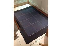 Kitchen RUG 120 x 170 cm - Navy Blue