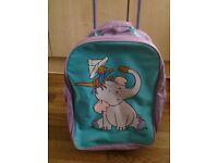 Children's wheeled trolley backpack rucksack