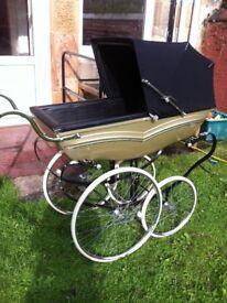 silver cross wilson mulliner coachbuilt pram vintage coach built