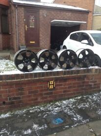 Audi A3 alloys 18 inch very decent condition