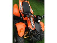 Kids quad bike aeon revo cobra Apache 100cc very little use
