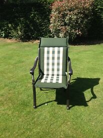 Garden chair cushions x 6. Excellent condition, reversible. £60