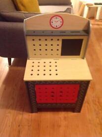 Teamson Children's Small Foldable Workbench