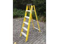 6 tread electricians step ladders.