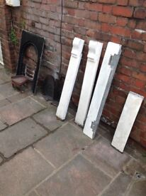 Victorian Slate fire surround and insert