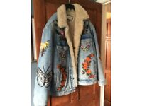 Authentic Gucci Demin Jacket