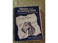 Notes from the Grooming Table Spiral-bound