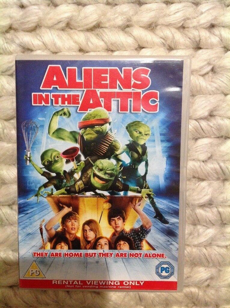 Aliens in the attic DVD film