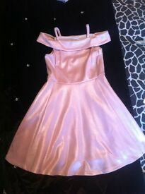 Girls dress age 7 yrs worn once river island immaculate cond £10