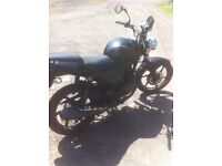 2013 HONDA CBF 125 LONG MOT ROUGH BUT CHEAP AND CHEERFUL EXCELLENT RUNNER