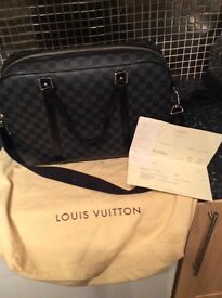 Louis Vuitton Jorn Damier Graphite briefcase