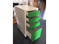 IKEA MICKE DESK and DRAWER UNIT