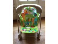 Fisherprice Rainforest Swing Chair.