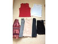 Bundle of ladies clothing - Size 10- skirts & tops from Oasis, Next, D Perkins, Principles Petite