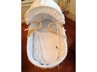 Excellent condition Moses baskets