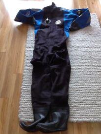 Otter Texflex Dry Suit (Medium) plus Thinsulate Suit