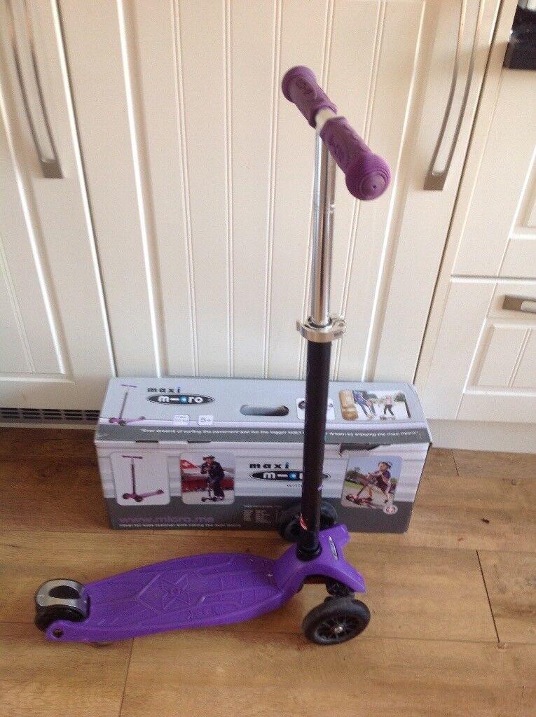 Maxi Micro Scooter (Purple)