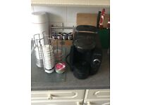 Bosch Tassimo Coffee Maker With Coffee Stand
