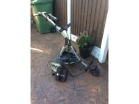 Motocaddy S1 trolly with battery