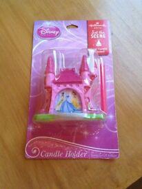 Disney Princess Candle Holder Cake Toppers