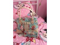 BRAND NEW FLOOZIE BY FROST FRENCH BAG AND MATCHING PURSE