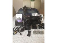 CANON 450d CAMERA PACKAGE