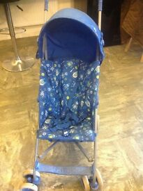 Mothercare blue buggy