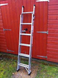 Titan 3way step ladder