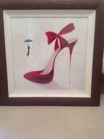 Red Stiletto Shoe Picture