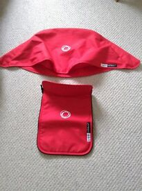 Bugaboo Cameleon 3 Hood and Apron. Hardly Used. Excellent condition. No marks or fading!