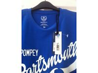 Portsmouth Football Club T .Shirt , Brand New with tags , Size Medium ......