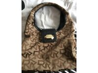 Very good condition Authentic original DKNY designer brown, chocolate and black good quality