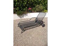 Kettler lounger garden recliner